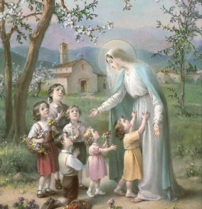 Our Lady's love for us, her children