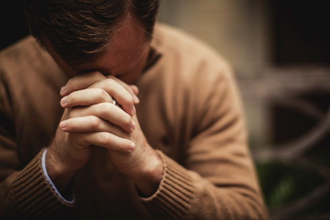 Praying on Holy Saturday