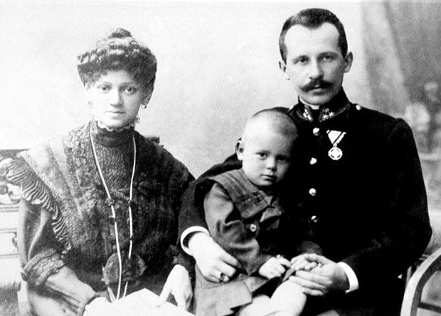 John Paul II family photo