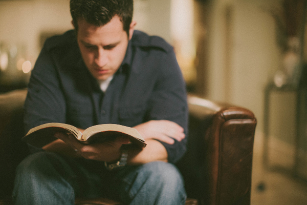Prayerful reading of Scripture