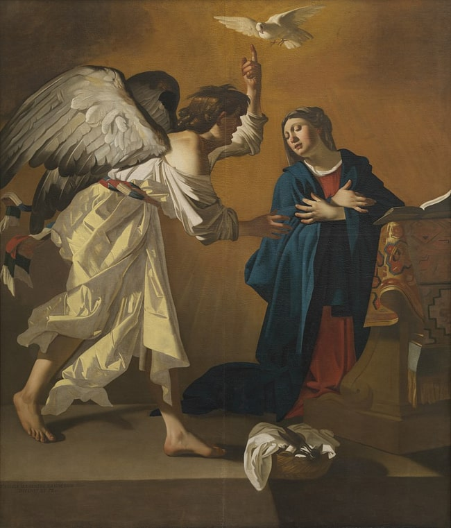 The Annunciation by Jan Janssens