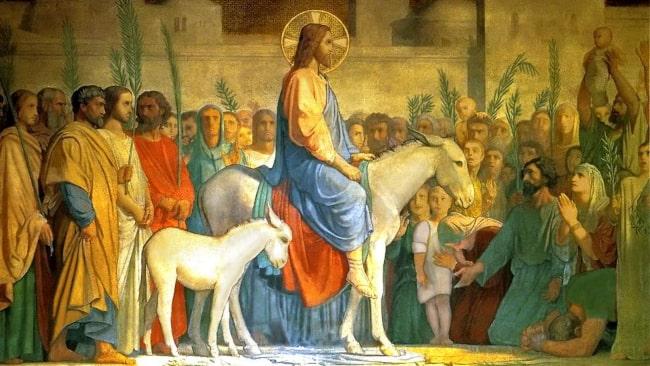 Christ's Entry into Jerusalem by Jean-Hippolyte Flandrin