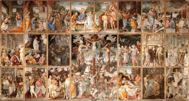 The Life of Christ by Gaudenzio Ferrari