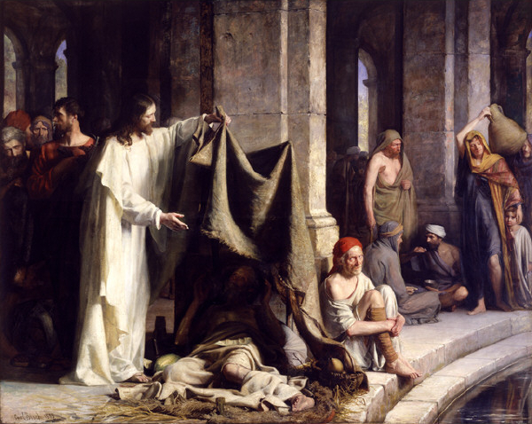 Jesus and the impoverished