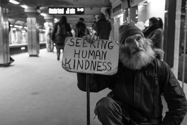 Homeless and hoping