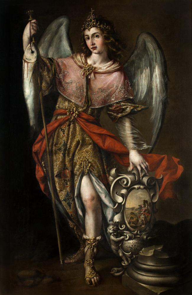 St. Raphael by Valdés Leal