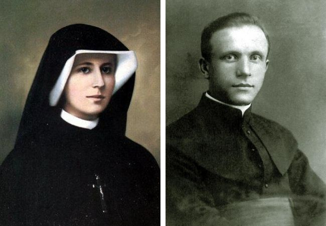 St. Faustina and Blessed Sopocko
