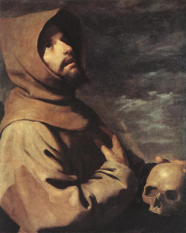 St. Francis in Ecstasy (Zurbarán)