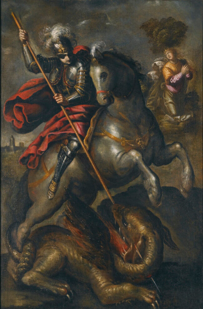 St. George and the Dragon by Tintoretto