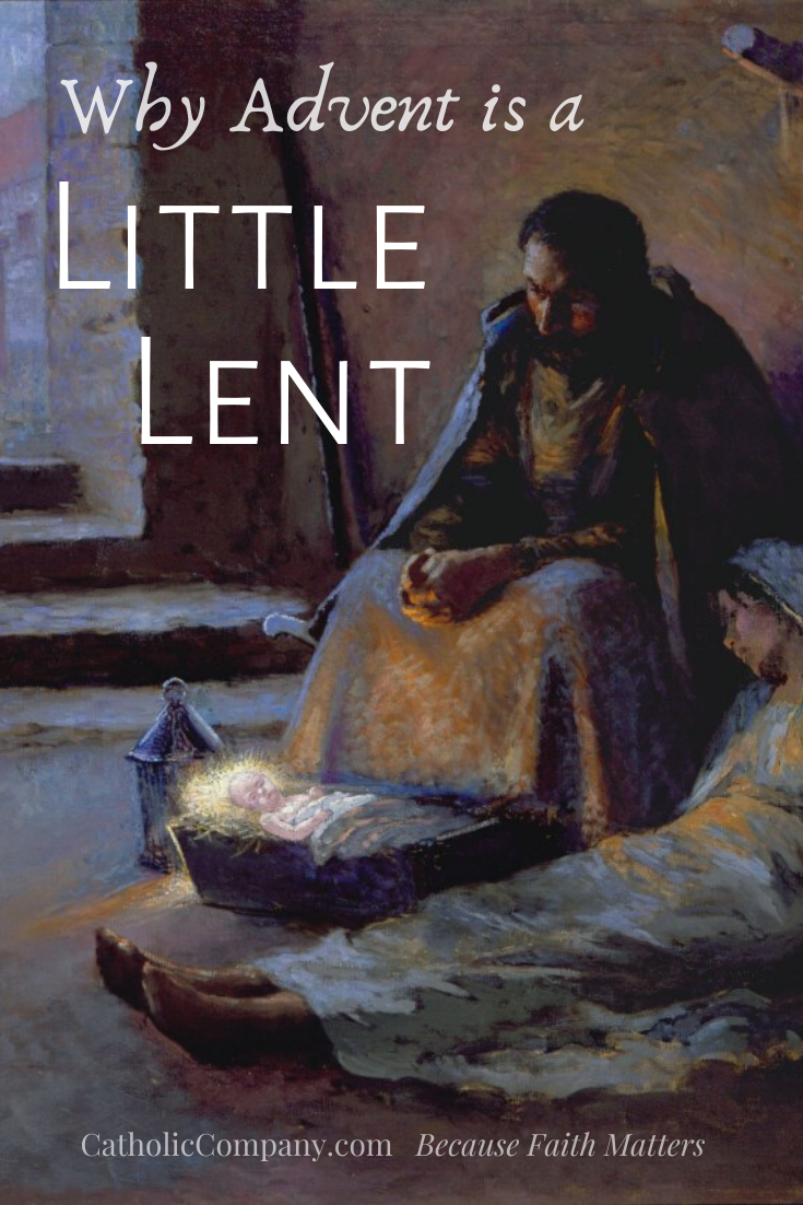 Did you know that Advent is a penitential season that prepares us for the glory of Christmas?
