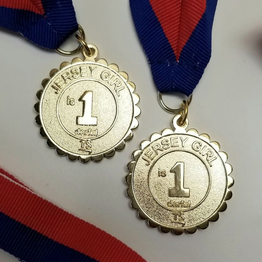 Special Medal for Angie Migraine Free for One Year