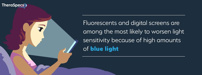 Fluorescent and screen light sensitivity, fact