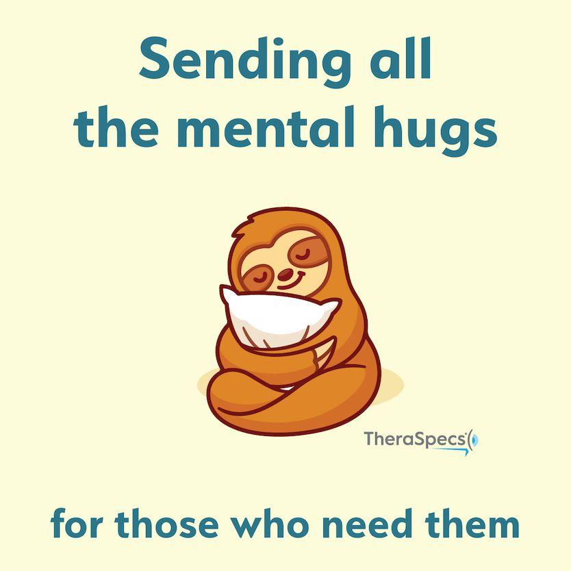 Sloth Meme Sending Mental Hugs During Quarantine