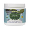 Full view of a bottle of Perfect Chlorella powder dietary supplement from Perfect Supplements.