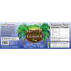 Full Label view including supplement facts, ingredients and suggested use of Perfect Coconut Softgels.