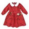 Peter Pan girls dress pattern for toddler, baby newborn