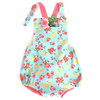 Honeycrisp baby bubble romper pattern for boys and girls.