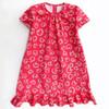 PDF sewing girls dress pattern.