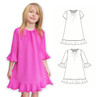 Sewing dress pattern for toddler, girls, teens.