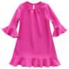Flare dress pattern for girls, toddler.