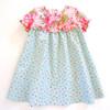 Ninotchka girls dress pattern for baby toddler infant newborn
