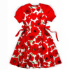 Raglan girls dress pattern for toddler, little and big girls.