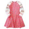 Long sleeve dress pattern for little girls, big girls and toddler