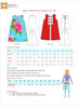Easy-to-make dress pattern for girls, toddler
