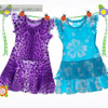 Jersey knit sewing dress pattern for girls, toddler, kids
