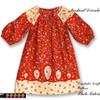 Toddler peasant dress pattern, girls