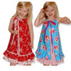 Penelope pillowcase dress pattern for girls, toddler