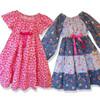 Astra short sleeve peasant dress pattern girls toddler sewing PDF