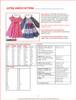 Astra girl & toddler dress PDF pattern. 12m-12y