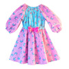 Flared toddler dress pattern
