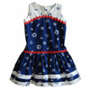 Sewing dress pattern for girls, toddler