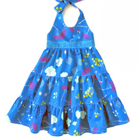 Madison girls dress sewing pattern, for children and toddler.