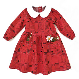 Peter Pan girls dress pattern for toddler, baby newborn