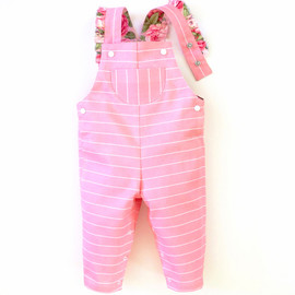 Giggle jumpsuit, dungaree romper pattern for baby boy, baby girl, newborn, infant toddler.