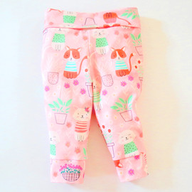 Baby jersey pants pattern for girl, boy, newborn, infant