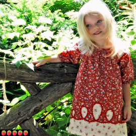Prairie girls peasant dress pattern