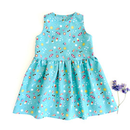 Lena baby dress sewing pattern