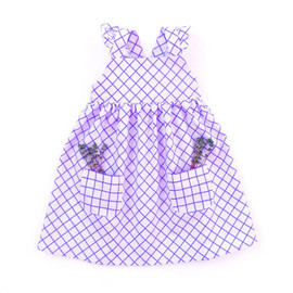 Pinafore dress pattern for baby girls, toddler girls, kids, newborn girls