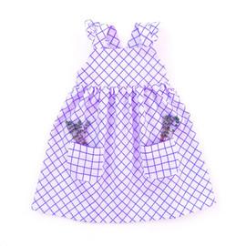 Pinafore dress pattern for baby girls, toddler girls, kids, newborn girls