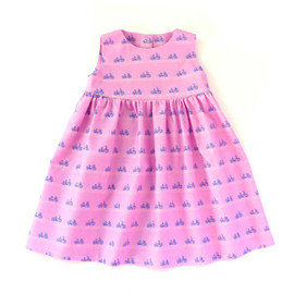 Vienna newborn and infant girl dress sewing pattern