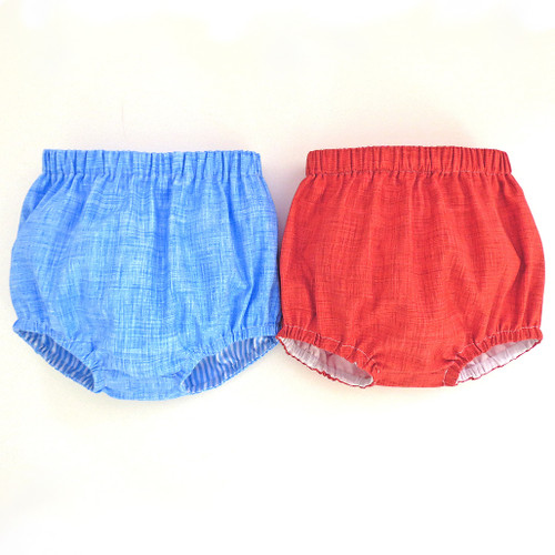 Baby bloomers sewing PDF pattern for infant, newborn, toddler