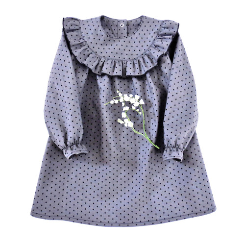 Little Dasha baby girl dress pattern.