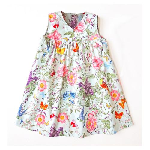 Natasha baby dress pattern for girls PDF