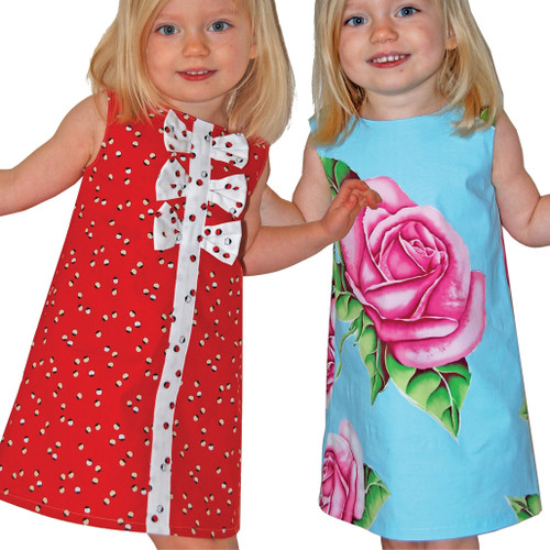 Sewing PDF dress pattern for girls