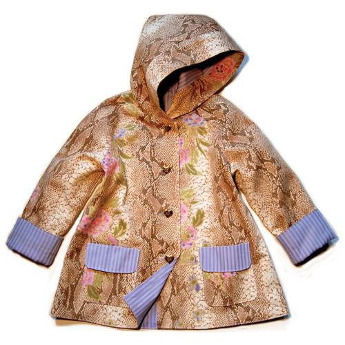 Girls coat pattern PDF