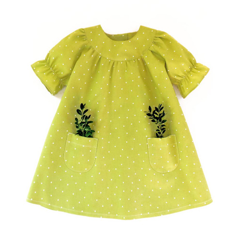 Little Fairy dress pattern from 5Berries patterns